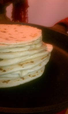 Texas Style Flour Tortillas....thick, soft, chewy