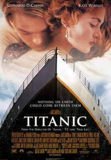 """Titanic"" (1997). Directed by James Cameron. Starring: Leonardo DiCaprio, Kate Winslet, Billy Zane, Kathy Bates, Frances Fisher, Victor Garber, Bernard Hill, Jonathan Hyde. This film tells us about the greatest disaster of the first half of the 20th century, which took a lot of peoples' lives. We see this tragedy through the main characters' eyes. They are young people - Jack and Rose, who fell in love with each other on board the "" Titanic"". Recommended age -12+"