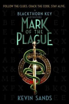 Mark of the plague by Kevin Sands.  As the plague decimates London in 1665 and an assassin threatens the apothecary's life, apprentice Christopher Rowe and his faithful friend Tom, following a trail of puzzles, riddles, and secrets, risk their lives to untangle the heart of a dark conspiracy.
