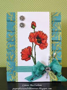 Paper Pleats and Ribbon Roses: April 2012