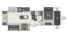 Get your 2020 Keystone Laredo RV today! Browse available inventory, real photos, and specs. Or custom build your very own! Luxury Bus, Rv Dealers, Theater Seating, Master Closet, Queen Beds, Floor Plans, Camping, Indoor, Storage