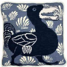 Fine Cell NeedleworkBlue Dodo Needlepoint Kit i have this and his left facing brother. Yet to do..