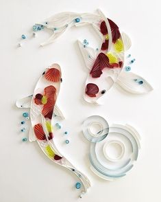 13 Paper Quilling Design Ideas That Will Stun Your Friends – Quilling Techniques Ideas Quilling, Quilling Images, Paper Quilling Patterns, Quilled Paper Art, Origami Paper Art, Quilling Paper Craft, Paper Crafts, Arts And Crafts, Water Paper