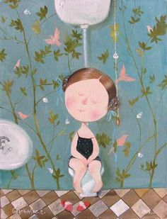 Ukr artist Eugenia Gapchinska