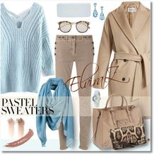 Fashion trends,beauty tips.My Polyvore finds.: Pastel Sweaters