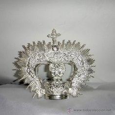 Linda Coronita con Diadema, elaborada en alpaca, bañada en plata. (Otros Coleccionismos - Artesanía)