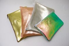 More Tracey Tanner - foil pouches! - we can't get enough metallic!