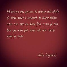 #amor #felicidade #rotulos