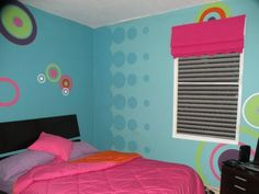 FUN wall paint for kids room