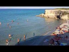 Pineta e mare di Conca Specchiulla a Otranto - YouTube
