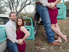 Props act as accessories to your photo shoot.  Old Turquoise Ford Truck?  YES PLEASE!