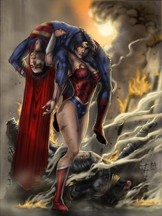 Count me among those think Wonder Woman is one bad mutha!