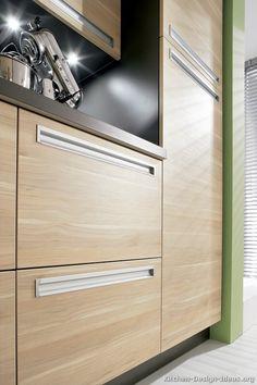 Modern Gray Kitchen Cabinets green wall. Metal pole countertop. Nice ...