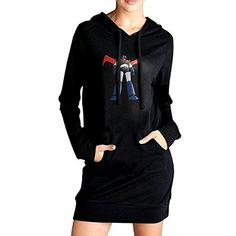Womens Anime Great Mazinger Grendizer Pullover Sweater Hoodie -- Check this awesome product by going to the link at the image.