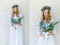 blue_summer_2 Girls Dresses, Flower Girl Dresses, Wreaths, Wedding Dresses, Flowers, Summer, Blue, Photography, Style