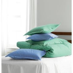 Hyannis Stripe Percale Sheets & Bedding Set