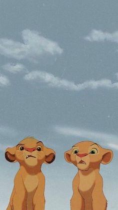 Disney Phone Wallpaper, Cartoon Wallpaper Iphone, Cute Cartoon Wallpapers, Animal Wallpaper, Wallpaper Iphone Vintage, Cute Iphone Wallpaper Tumblr, Kawaii Wallpaper, Lion King Movie, Disney Lion King