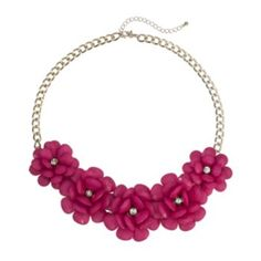 Apt. 9 Flower Bib Statement Necklace