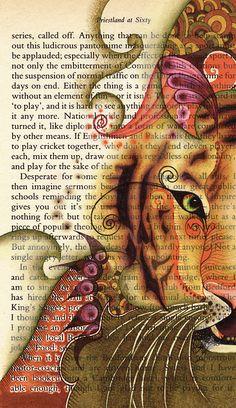 'Tiger Tales' illustration by katiemo