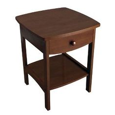 End Table Walnut - Winsome