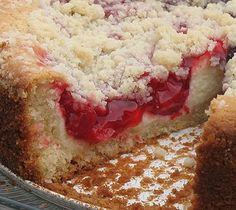 Cherry Cream Cheese Coffee Cake - Amanda's Cookin'