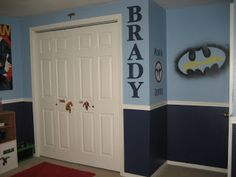Cindys Vinyl Creations: Super Hero Room - Finished!