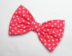 For sale is a beautifully made classic style hair bow clip. I love hair bows! They are the cutest hair accessory. You can clip your bow and create so