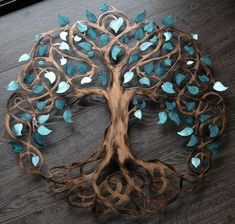 Teal Sparkle Tree of Life Infinity Tree Wall Decor Wall Art Metal Tree Art Metal Tree Wall Art, Wood Wall, Unique Wedding Gifts, Wedding Ideas, Decor Wedding, Unique Weddings, Tree Lighting, Metal Walls, Wall Art Decor