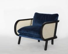 BuzziCane: Modern Seating with Traditional Woven Cane Backs