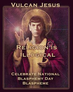 """Join me, and burn a """"holy"""" symbol on September 30th! I'd lend you a bible if the shipping wasn't so expensive."""