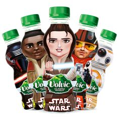 Volvic - Star Wars Shrink Sleeve by Sleever International  #sleeverinternational #shrinksleeve #designpackaging #volvic #starwars