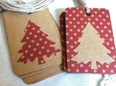 Handmade Christmas gift tags by Sakura Zipper Jewelry Handmade Gift Tags, Handmade Christmas Gifts, Christmas Gift Wrapping, Christmas Tag, All Things Christmas, Christmas Trees, Tarjetas Diy, Card Tags, Christmas Inspiration