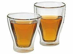 Dubbelwandige glazen taps