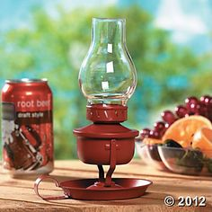 Oil Lamp with LED Light