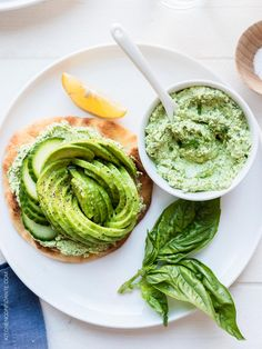 Green goddess avocado toast