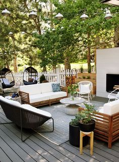 Wicked 8 Beautiful Backyard Patio Deck Design and Decoration Ideas Backyard Terrace Deck Design and Beautiful Decoration Ideas are the most important things for your home that is outside because you can relax all day . Pergola Design, Backyard Patio Designs, Patio Ideas, Backyard Ideas, Pergola Ideas, Porch Ideas, Outdoor Spaces, Outdoor Living, Outdoor Decor