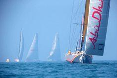 "VOR: ""Abu Dhabi"" lidera el inicio de la tercera etapa"