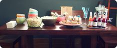 Have this party: popcorn bar and double feature | Offbeat Home