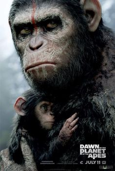 Nuevo póster de Dawn of the planet of the apes