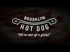 The Brooklyn Hot Dog Comapny hot dog logo branding identity website joomla brooklyn new york beef meat pork pepperoni gyro buffalo chicken classic wiener Food Brand Logos, Food Branding, Logo Food, Hot Dog Restaurants, Wine And Pizza, Fast Casual Restaurant, Hot Dog Cart, Restaurant Logo Design, Hog Dog