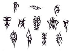 Simple tribal tattoos for women
