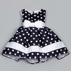 Shop for Dorissa Infant Girl's Dotty Polka Dot Dress . Get free delivery On EVERYTHING* Overstock - Your Online Children's Clothing Outlet Store! Toddler Dress, Toddler Outfits, Baby Dress, Kids Outfits, Dot Dress, Dress Girl, Little Dresses, Little Girl Dresses, Cute Dresses