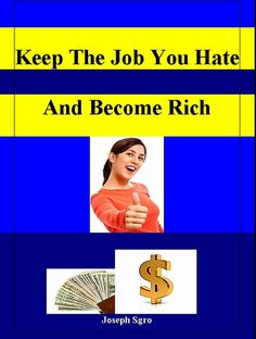 """""""Keep The Job You Hate and Become Rich"""", contains some hot ideas you can use to start your home business. Included is the $100K per year income formula and how you can get on-going support till you make an income and beyond. Go here to pick up your c Get paid for taking surveys online. There are actually companies out there  that will pay you just for taking surveys!.  You can earn anywhere"""