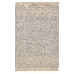 Home Decorators Collection Winchester Beige/Blue 8 ft. x 10 ft. Wool Area Rug HDDS35-011 - The Home Depot Area Rug Sizes, Blue Wool, Wool Area Rugs, Recycled Materials, Pattern Making, Modern Rustic, Cottage Style, Winchester, Neutral Colors