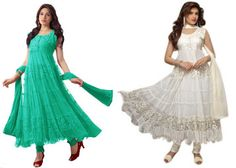 Bollywood Embellished Semi Stitched Anarkali Suit at Lowest Price at Rs 298 - Best Online Offer