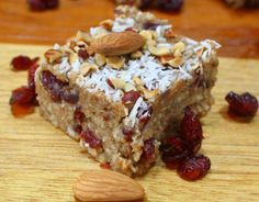 Primal Nut Bars #glutenfree #grainfree #paleo | 1 cup of slivered almonds  1 cup of pecans  ½ cup of nut flour,  (I used Bob's red mill hazelnut flour, more local ya know)  ½ cup of unsweetened dried coconut  ½ cup almond butter  ½ cup of coconut oil  ¼ cup of honey  2 tsp of pure vanilla  ½ teaspoon of salt  1 cup of dried fruit, like cranberries