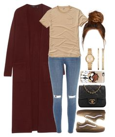01 December, 2016 by jamilah-rochon on Polyvore featuring Theory, River Island, Chanel, Michael Kors, Casetify and Hollister Co.
