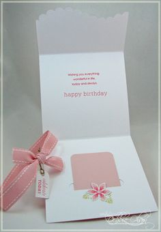 Celebrate Today Birthday Gift Card Folder