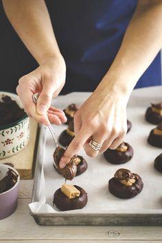 biscotti al #cioccolato con #Nutella e chips #cookies