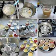 pots de creme step-by-step photos in the Fissler Vitavit Edition pressure cooker
